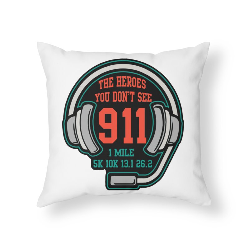 The Heroes You Don't See Home Throw Pillow by moonjoggers's Artist Shop