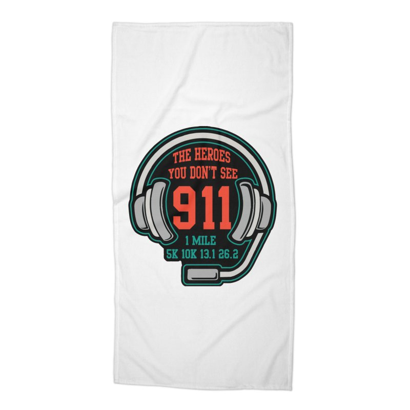 The Heroes You Don't See Accessories Beach Towel by Moon Joggers's Artist Shop