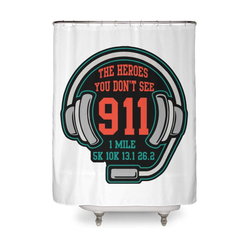 The Heroes You Don't See Home Shower Curtain by Moon Joggers's Artist Shop