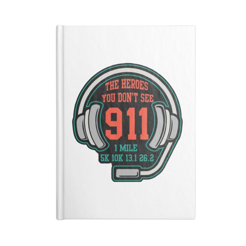 The Heroes You Don't See Accessories Blank Journal Notebook by Moon Joggers's Artist Shop