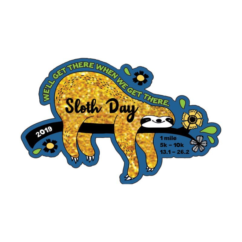 Sloth Day Kids Toddler Longsleeve T-Shirt by Moon Joggers's Artist Shop
