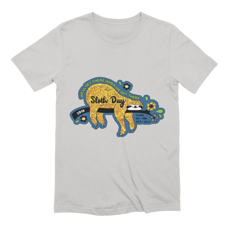 Sloth Day Men's Extra Soft T-Shirt by Moon Joggers's Artist Shop