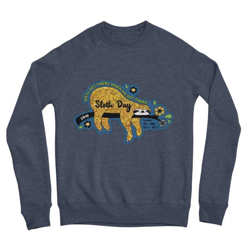 Sloth Day Women's Sponge Fleece Sweatshirt by Moon Joggers's Artist Shop