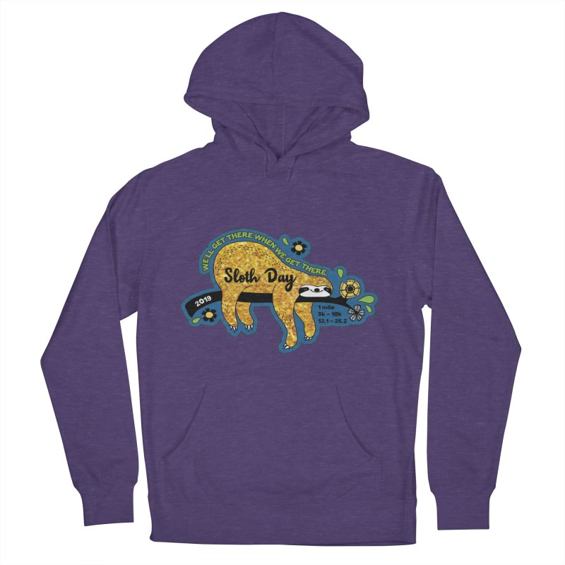 Sloth Day Men's French Terry Pullover Hoody by Moon Joggers's Artist Shop