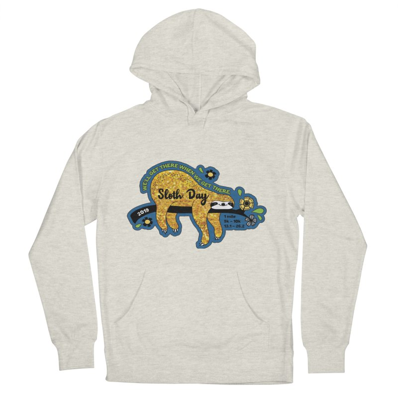 Sloth Day Men's French Terry Pullover Hoody by moonjoggers's Artist Shop