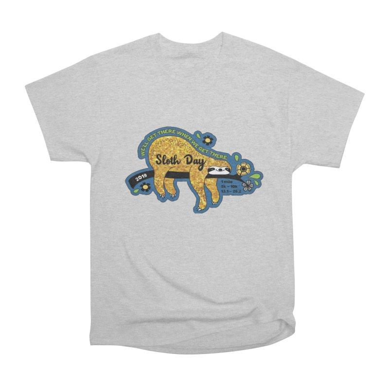 Sloth Day Women's Heavyweight Unisex T-Shirt by Moon Joggers's Artist Shop