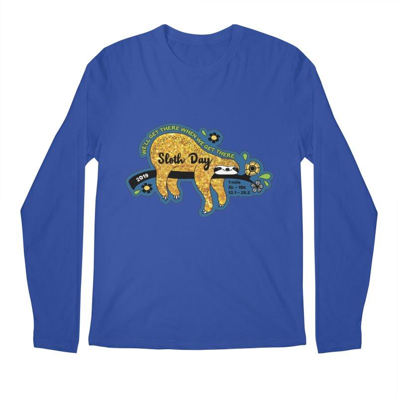 Sloth Day Men's Regular Longsleeve T-Shirt by Moon Joggers's Artist Shop