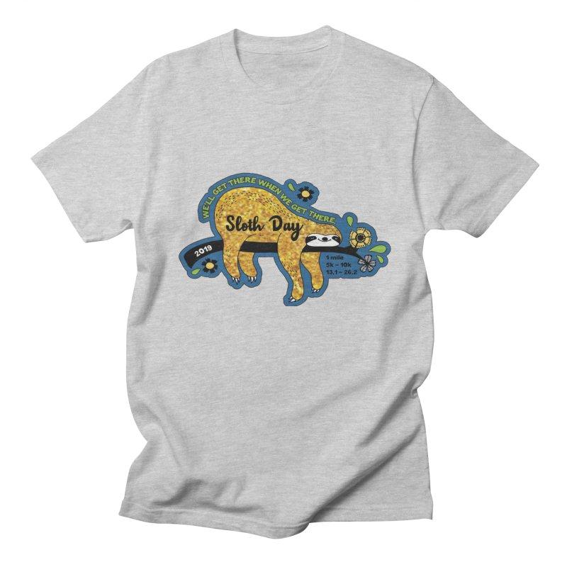 Sloth Day Men's Regular T-Shirt by Moon Joggers's Artist Shop