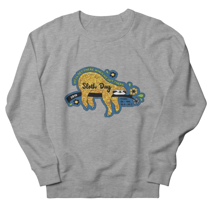 Sloth Day Men's French Terry Sweatshirt by Moon Joggers's Artist Shop