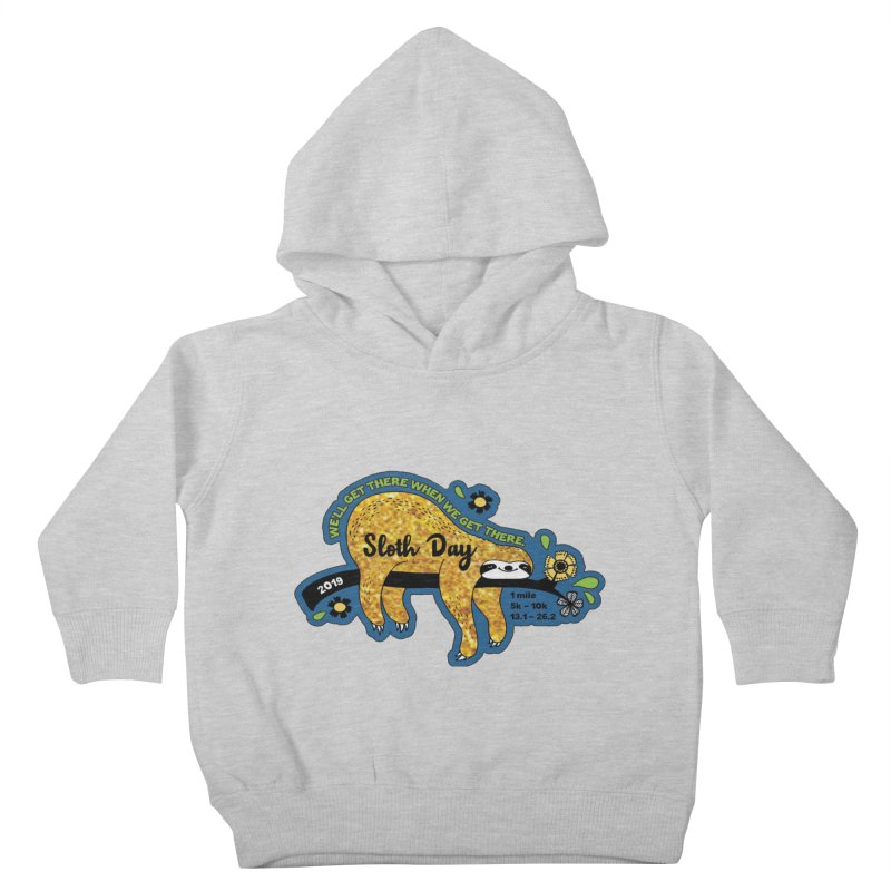 Sloth Day Kids Toddler Pullover Hoody by Moon Joggers's Artist Shop
