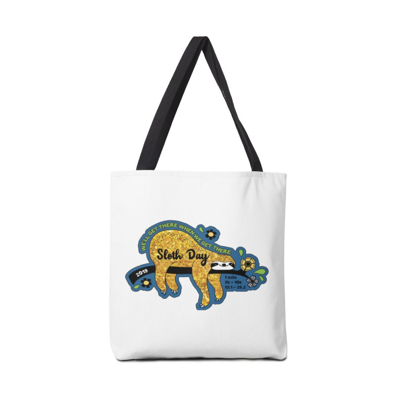 Sloth Day Accessories Bag by moonjoggers's Artist Shop