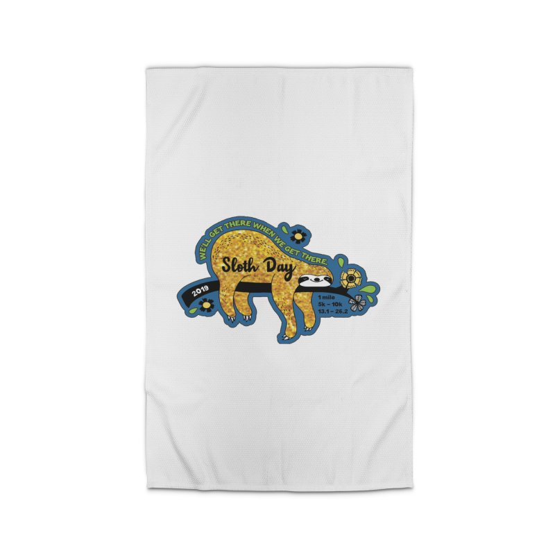 Sloth Day Home Rug by Moon Joggers's Artist Shop
