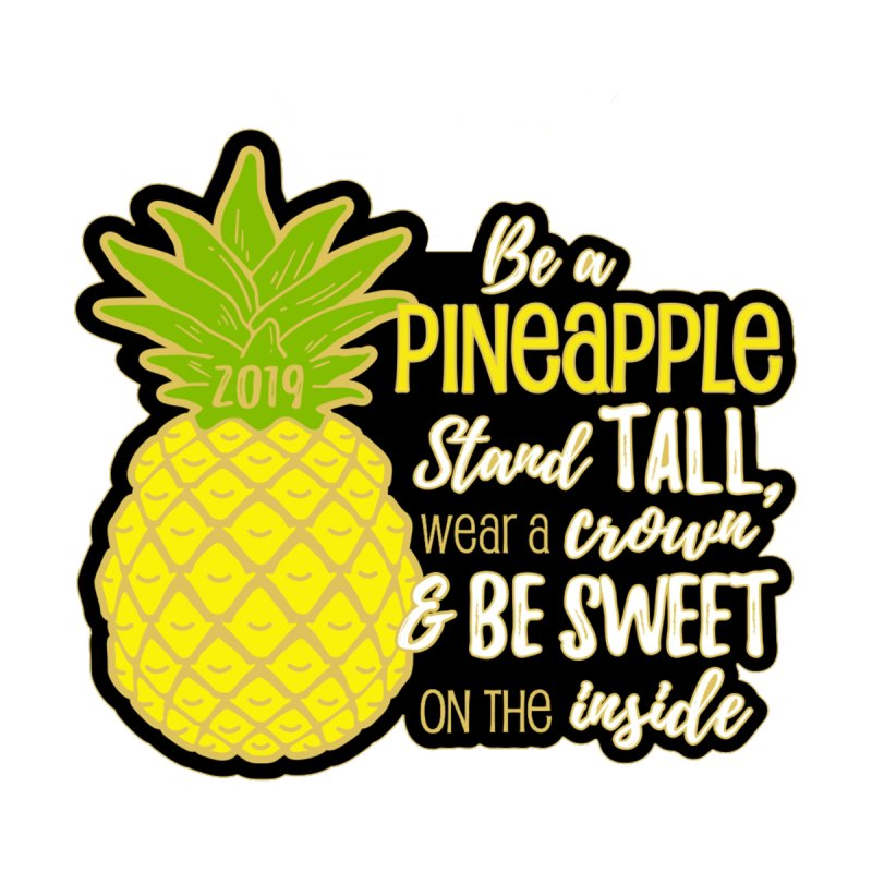 Be A Pineapple Men's V-Neck by Moon Joggers's Artist Shop