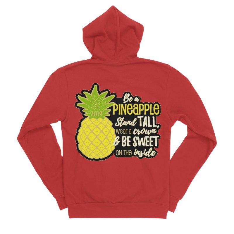 Be A Pineapple Women's Zip-Up Hoody by Moon Joggers's Artist Shop
