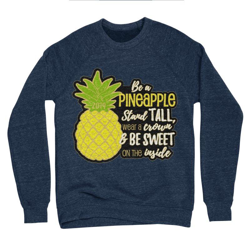 Be A Pineapple Men's Sponge Fleece Sweatshirt by Moon Joggers's Artist Shop