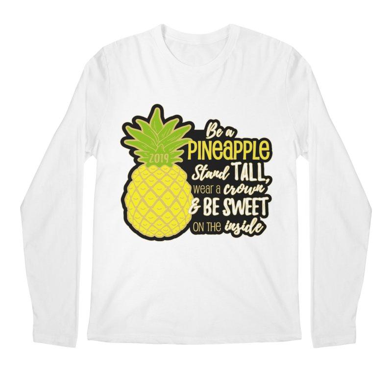 Be A Pineapple Men's Regular Longsleeve T-Shirt by Moon Joggers's Artist Shop