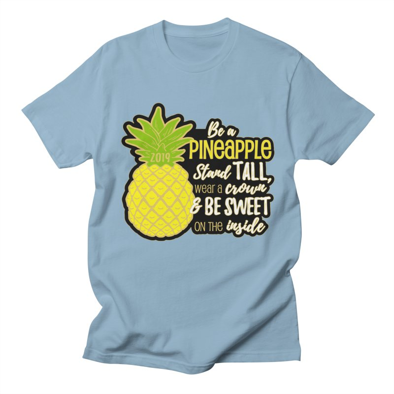 Be A Pineapple Men's Regular T-Shirt by Moon Joggers's Artist Shop