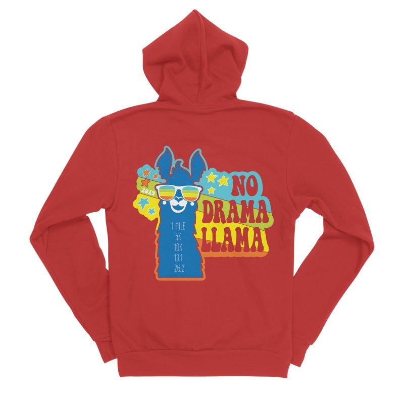 No Drama Llama Women's Zip-Up Hoody by Moon Joggers's Artist Shop