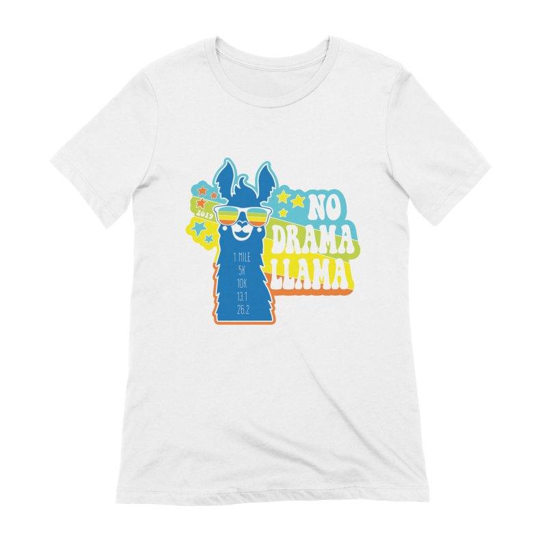 No Drama Llama Women's Extra Soft T-Shirt by Moon Joggers's Artist Shop