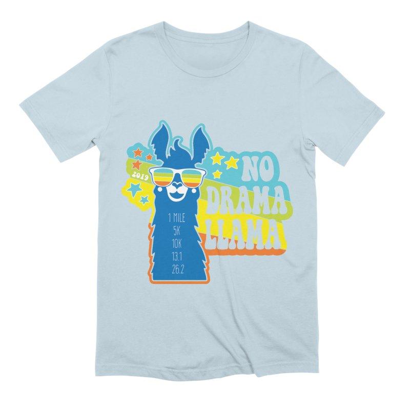 No Drama Llama Men's Extra Soft T-Shirt by Moon Joggers's Artist Shop