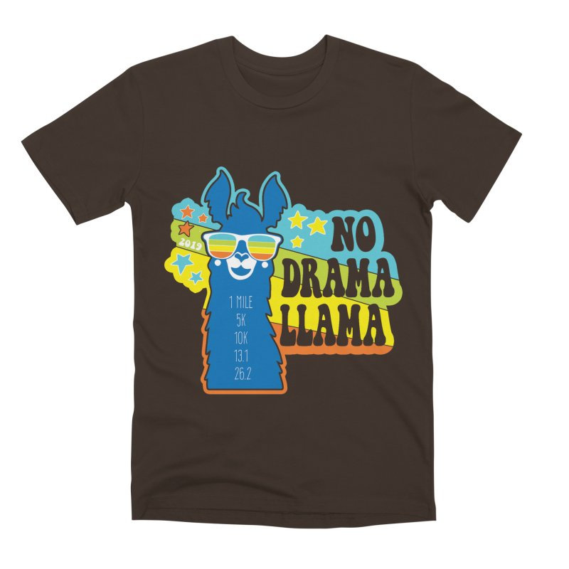 No Drama Llama Men's Premium T-Shirt by Moon Joggers's Artist Shop