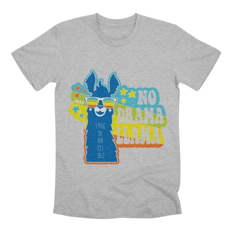 No Drama Llama Men's Premium T-Shirt by Moon Joggers's Artist Shop