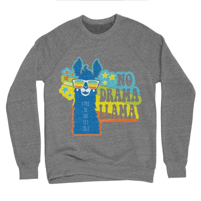 No Drama Llama Men's Sponge Fleece Sweatshirt by Moon Joggers's Artist Shop
