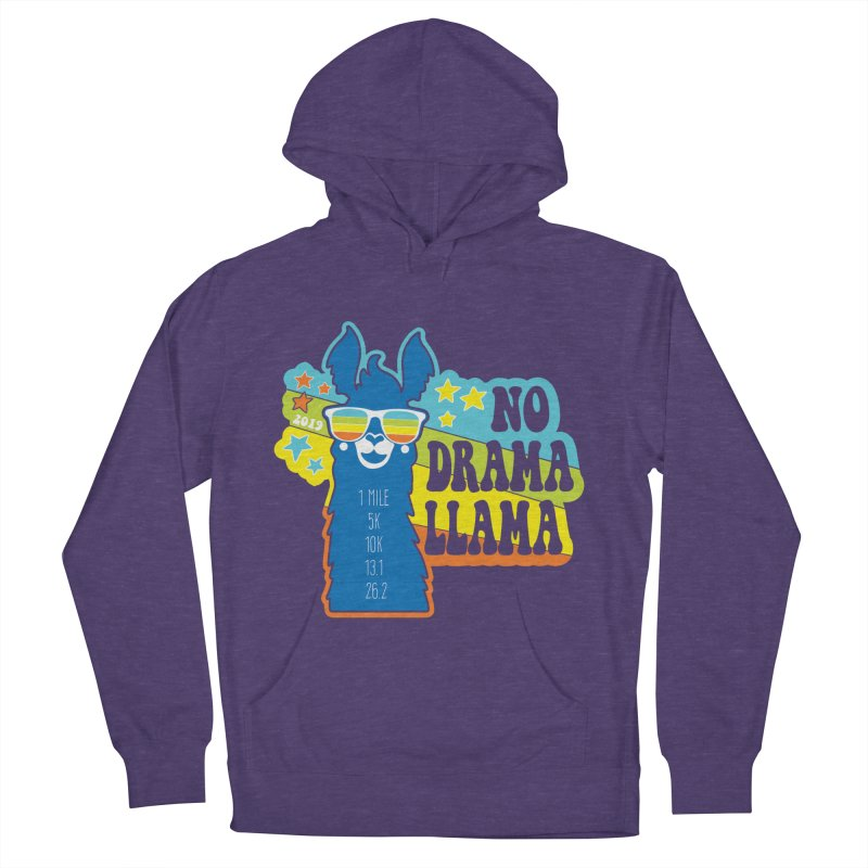 No Drama Llama Men's French Terry Pullover Hoody by Moon Joggers's Artist Shop