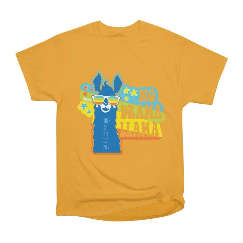 No Drama Llama Men's Heavyweight T-Shirt by Moon Joggers's Artist Shop
