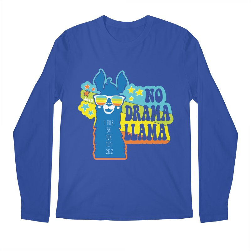 No Drama Llama Men's Regular Longsleeve T-Shirt by Moon Joggers's Artist Shop