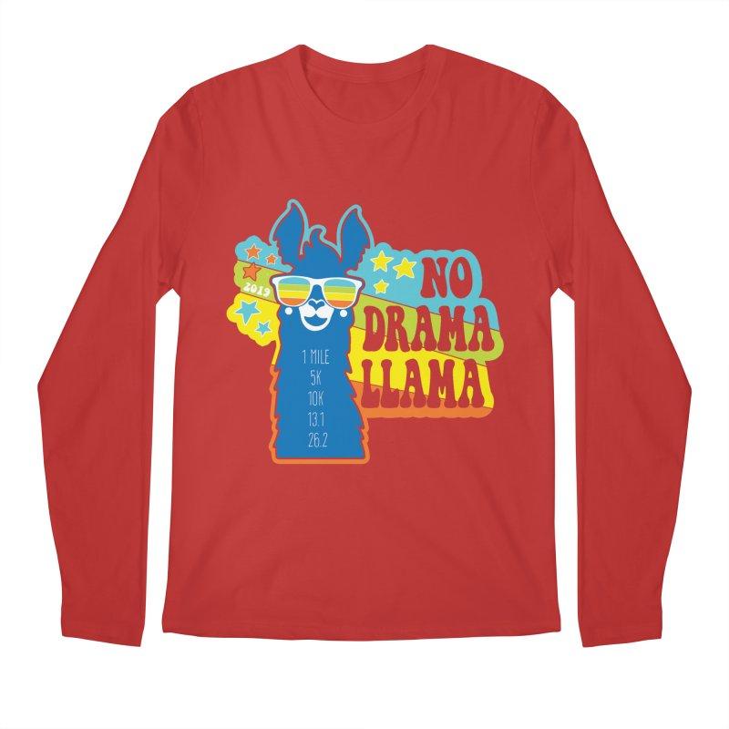 No Drama Llama Men's Regular Longsleeve T-Shirt by Moon Joggers's Artist Shop