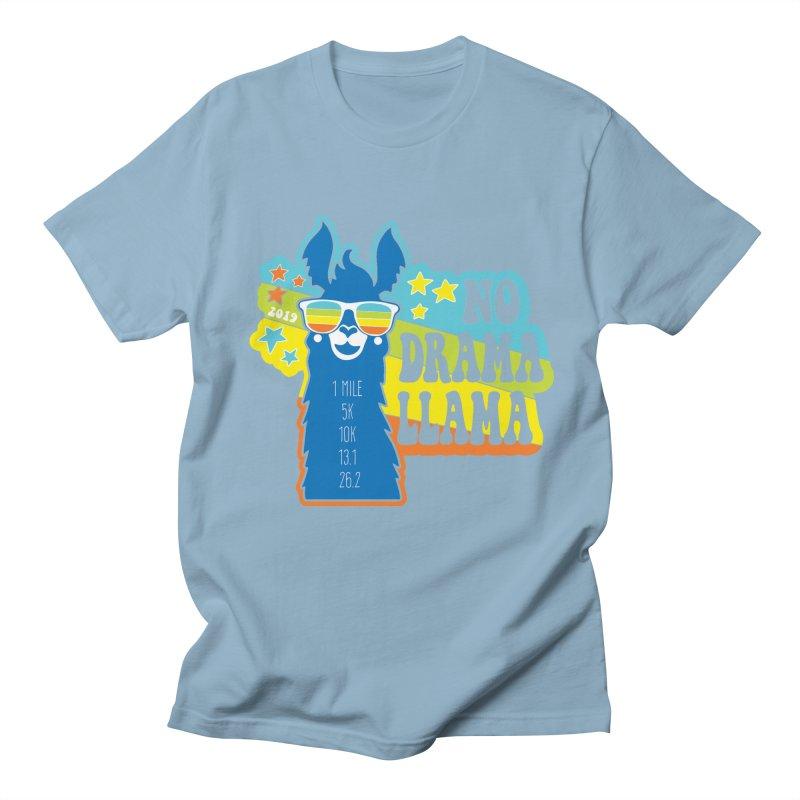 No Drama Llama Men's Regular T-Shirt by Moon Joggers's Artist Shop