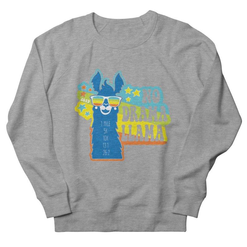No Drama Llama Women's French Terry Sweatshirt by Moon Joggers's Artist Shop