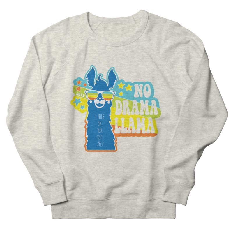 No Drama Llama Women's French Terry Sweatshirt by Moon Joggers's Artist Shop