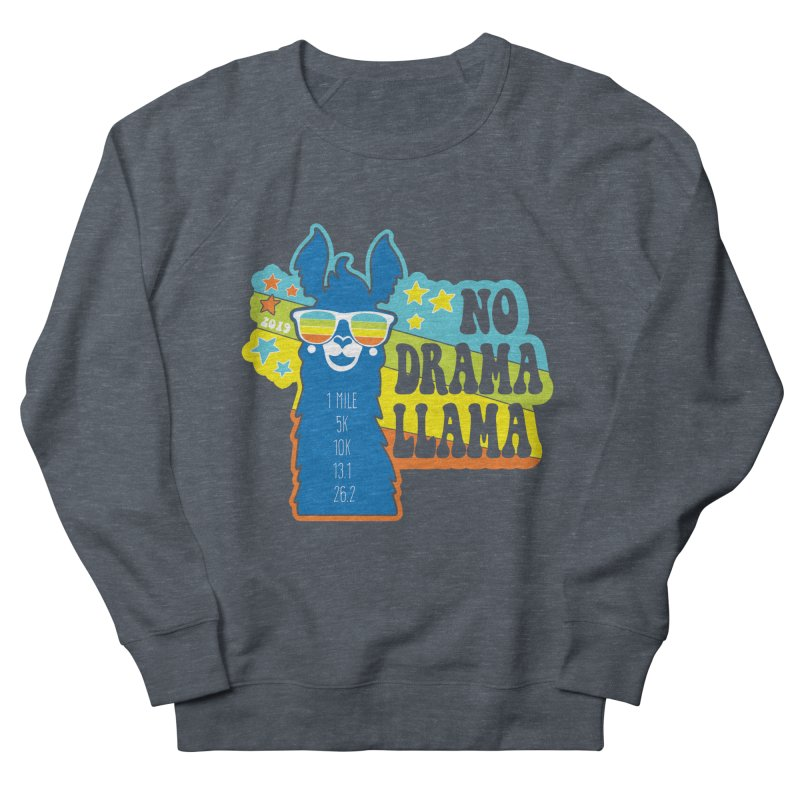 No Drama Llama Men's French Terry Sweatshirt by Moon Joggers's Artist Shop
