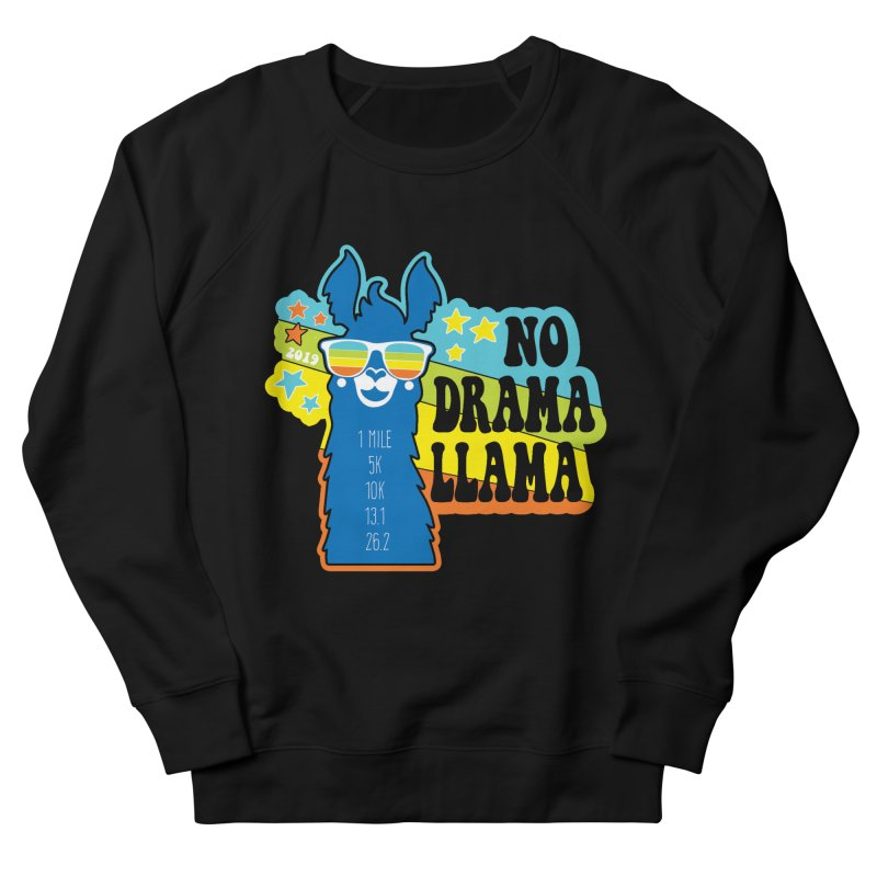 No Drama Llama Men's French Terry Sweatshirt by Moon Joggers's Artist Shop