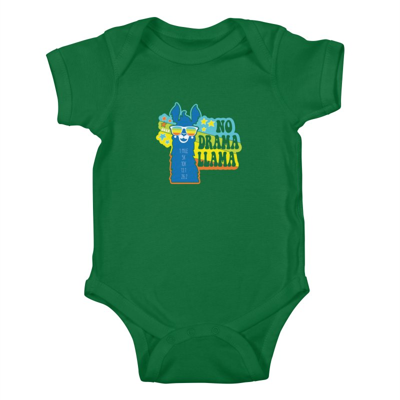 No Drama Llama Kids Baby Bodysuit by Moon Joggers's Artist Shop