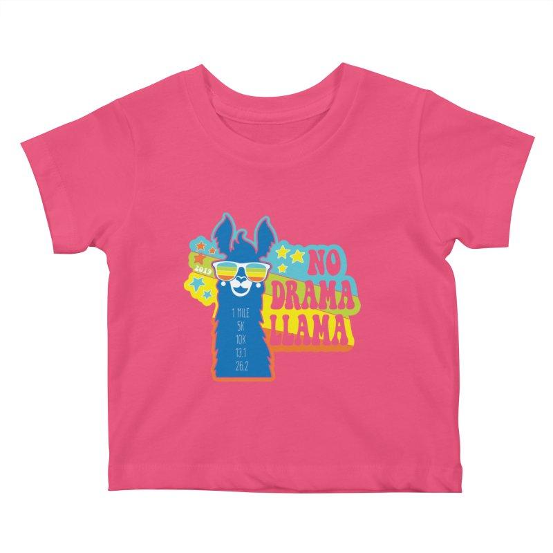 No Drama Llama Kids Baby T-Shirt by Moon Joggers's Artist Shop