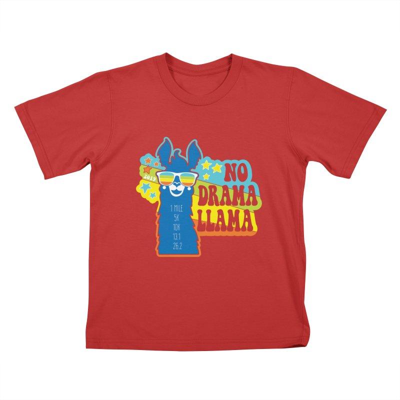 No Drama Llama Kids T-Shirt by Moon Joggers's Artist Shop