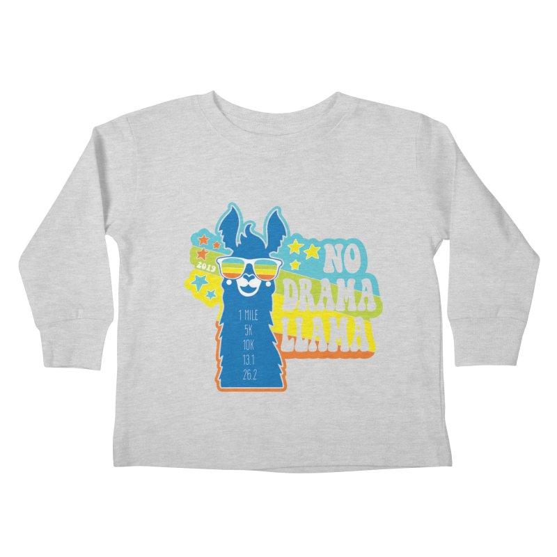 No Drama Llama Kids Toddler Longsleeve T-Shirt by Moon Joggers's Artist Shop