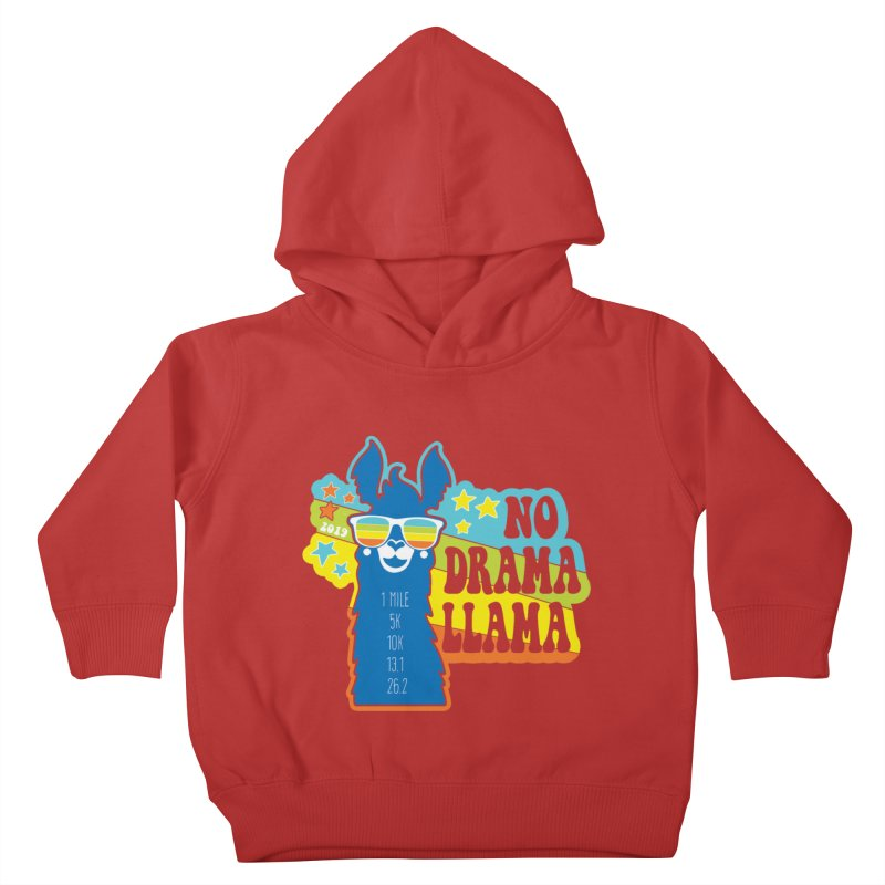 No Drama Llama Kids Toddler Pullover Hoody by Moon Joggers's Artist Shop