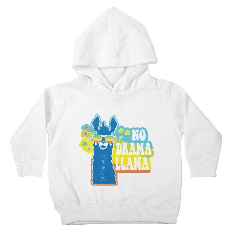 No Drama Llama Kids Toddler Pullover Hoody by Moon Joggers's Artist Shop