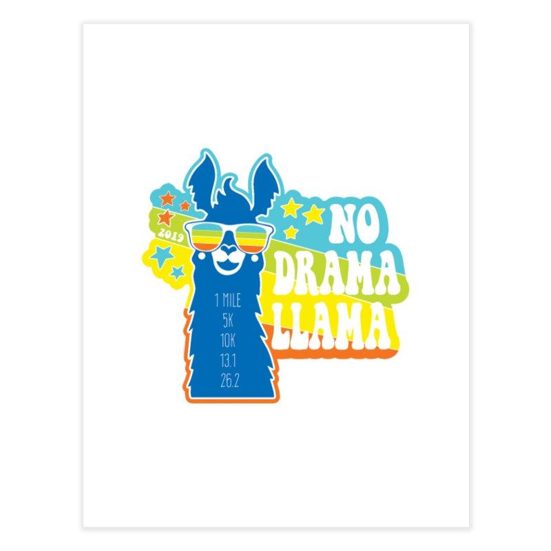 No Drama Llama Home Fine Art Print by Moon Joggers's Artist Shop