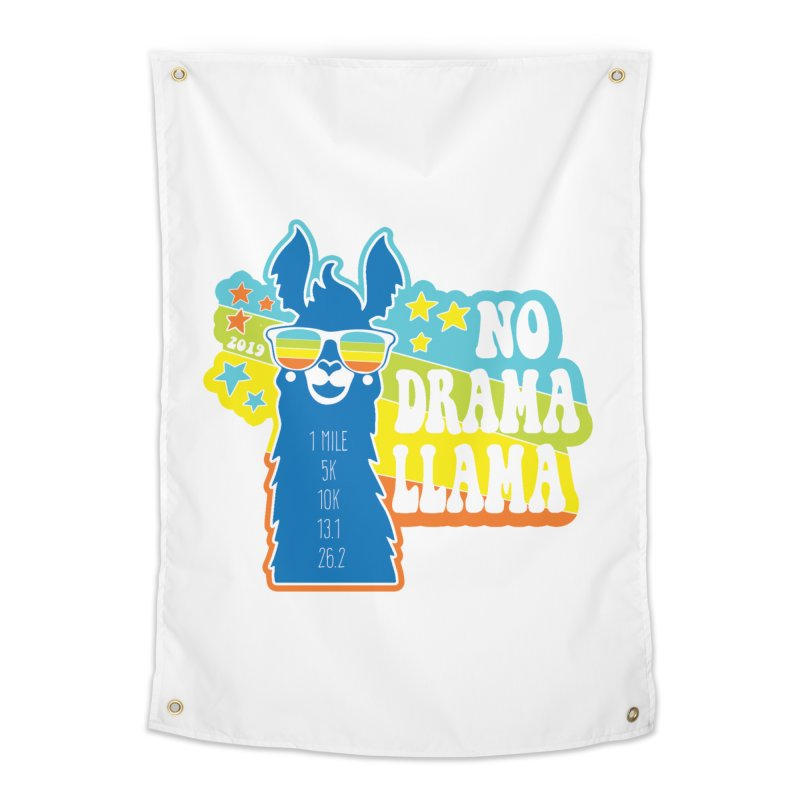 No Drama Llama Home Tapestry by Moon Joggers's Artist Shop