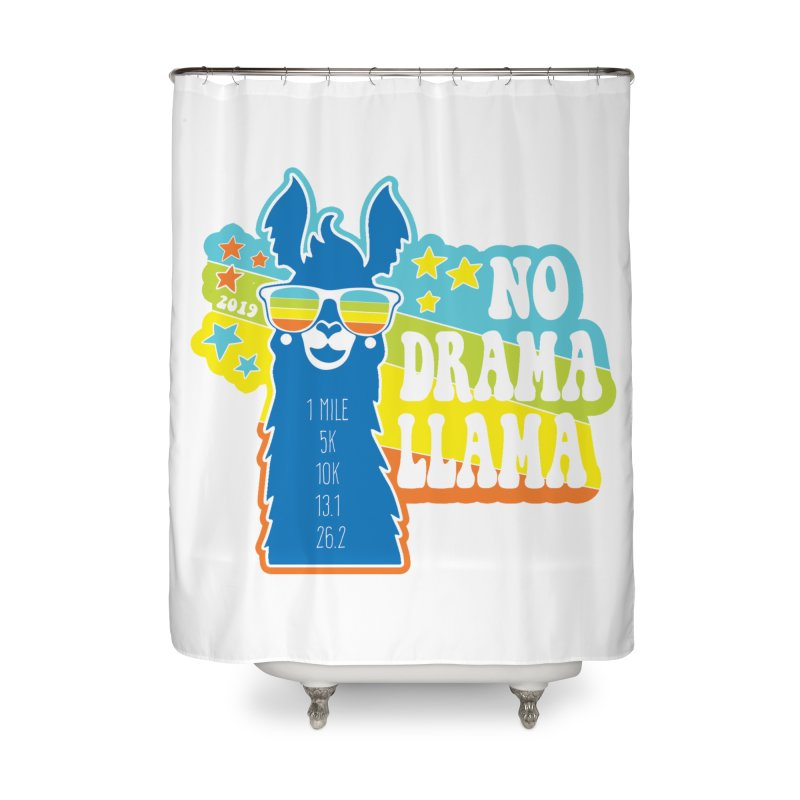 No Drama Llama Home Shower Curtain by Moon Joggers's Artist Shop