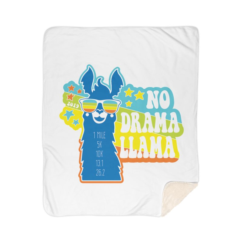 No Drama Llama Home Sherpa Blanket Blanket by Moon Joggers's Artist Shop