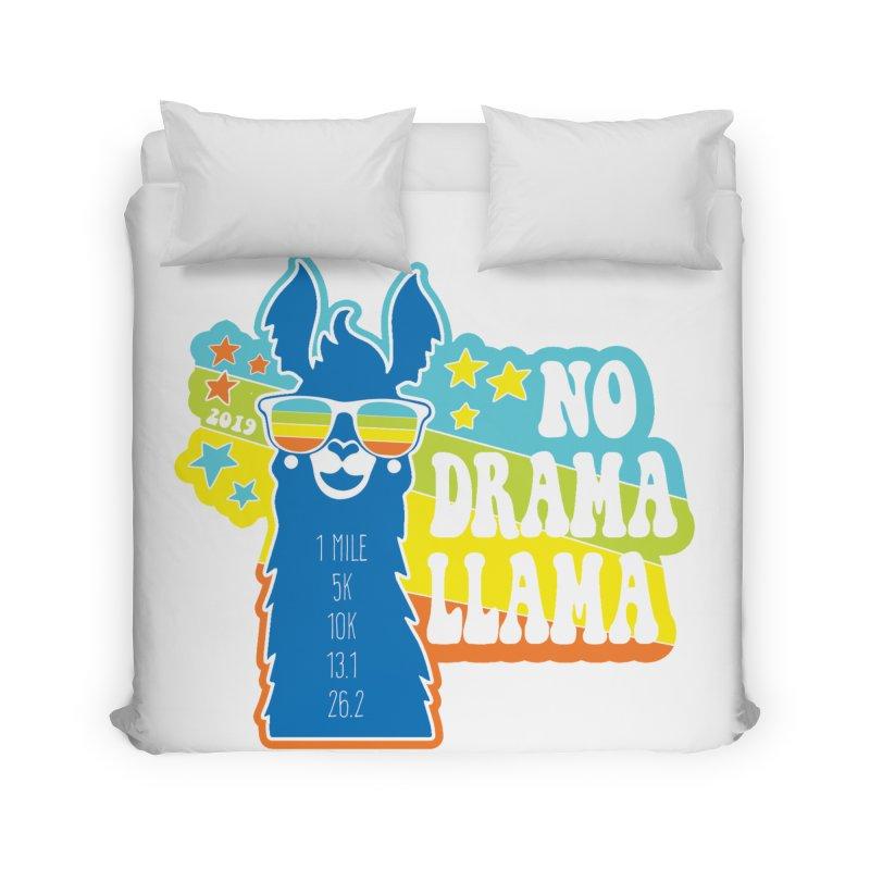 No Drama Llama Home Duvet by Moon Joggers's Artist Shop