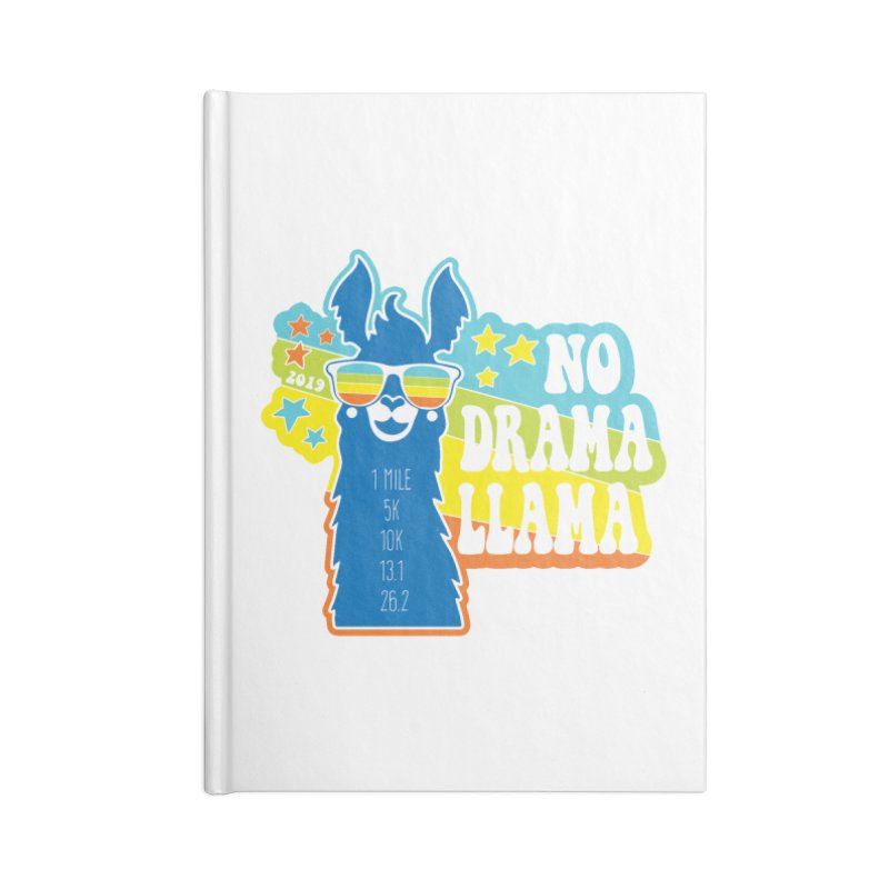 No Drama Llama Accessories Lined Journal Notebook by Moon Joggers's Artist Shop