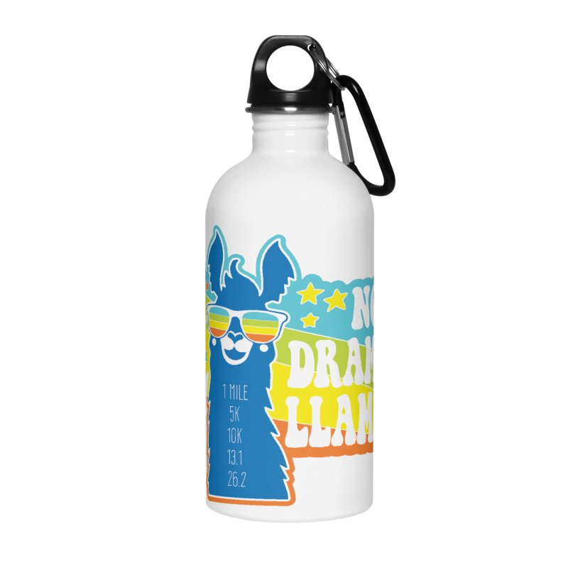 No Drama Llama Accessories Water Bottle by Moon Joggers's Artist Shop
