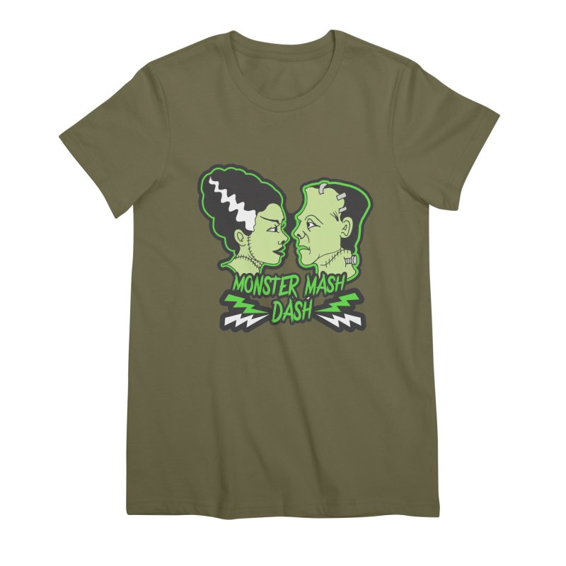 Monster Mash Dash Women's Premium T-Shirt by Moon Joggers's Artist Shop